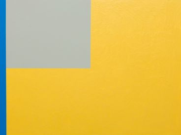 Jon Campbell - Flag (yellow, grey, blue)