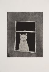 Noel McKenna - Cat in Window