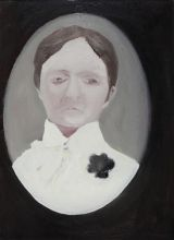Patrick Hartigan - Woman with black brooch