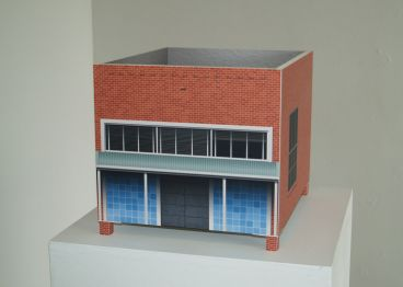 Andrew Hurle - Toroidal model (State Bank of South Australia, Snowtown, SA)