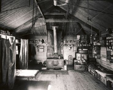 Laurence Aberhart - Interior, Shackleton's Hut, Cape Royds, Ross Island, Antarctica, 1 December 2010