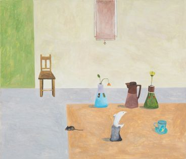 Noel McKenna - Table with ceramics