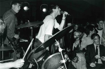 - The Screaming Meemees and dancers, North Shore Netball Hall, March 27, 1981