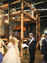 Slave Pianos - Performance event and concert with musicians, singers and actors including the Royal Australian Navy Band, virtuoso pianist Michael Kieran Harvey, and actor Richard Piper. 17th Biennale of Sydney The beauty of distance, songs of survival in a precarious a