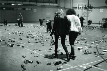 - Suzanne, Shoana and beer cans, Auckland University 1978