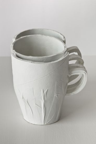 Ricky Swallow - Stacking Cup/Tapered (bone)