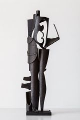 Ricky Swallow - Standing Figure with Animal and Shield