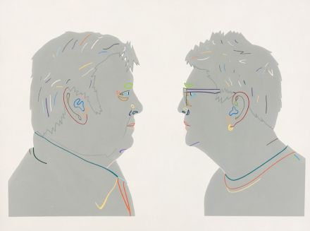 Jon Campbell - Finalist in the 2017 Archibald Prize, AGNSW