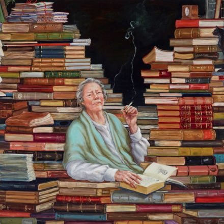 Bright Spark portrait of Colleen McCullough 798x800.A 2014