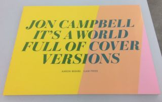 Jon Campbell - It's a world full of cover versions