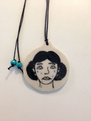 Sassy Park - Teary necklace
