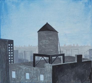 Noel McKenna - Water Tower from New Whitney NY