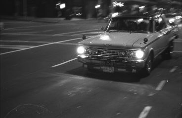 Murray Cammick - 1962 Ford Fairlane BY2537, Victoria St intersection