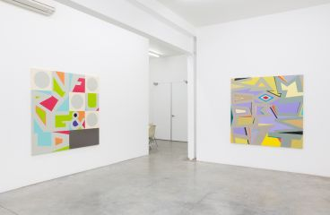 Jon Campbell - Installation view