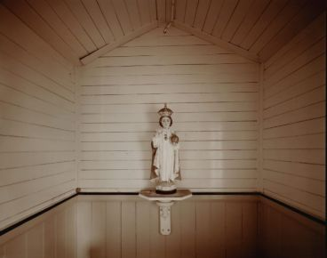 Laurence Aberhart - Infant of Prague, Hato Hohera Catholic Mission, Waitaruke, near Kaeo, Northland, 20 May 1982