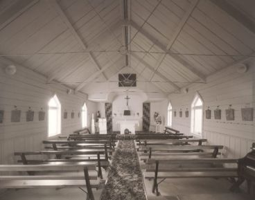 Laurence Aberhart - Interior, St.Paul's catholic Church, Waiwhatawhata, Northland, 20 April 2007