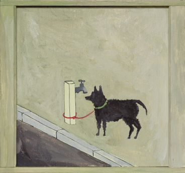 Noel McKenna - Tied up dog Rose Bay (1)