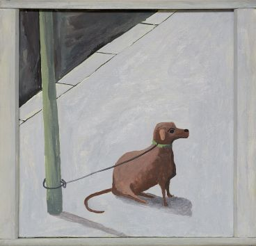 Noel McKenna - Tied up dog Rose Bay (4)