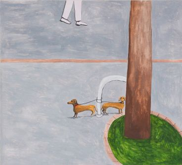 Noel McKenna - Tied up dogs Rose Bay (5)