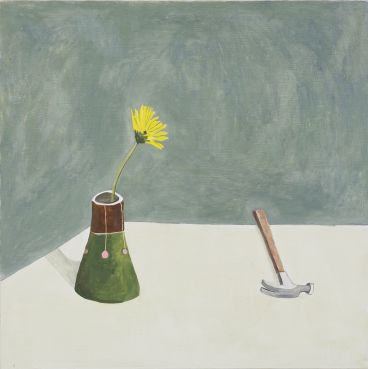 Noel McKenna - Yellow flower, Vase D15