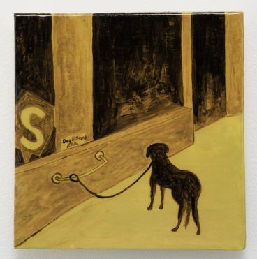 Noel McKenna - Tied up dogs Rose Bay A