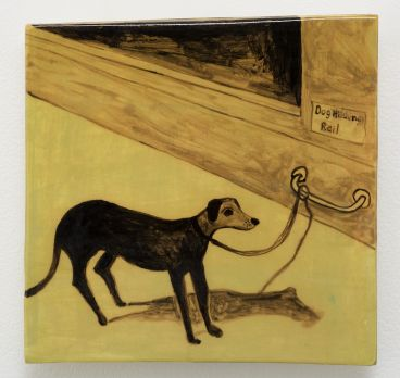Noel McKenna - Tied up dogs Rose Bay B