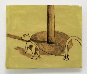Noel McKenna - Tied up dogs Rose Bay C