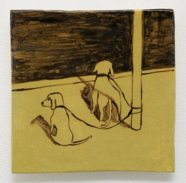 Noel McKenna - Tied up dogs Rose Bay H