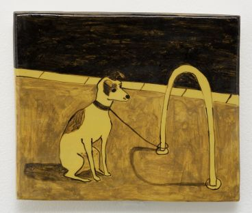 Noel McKenna - Tied up dogs Rose Bay S