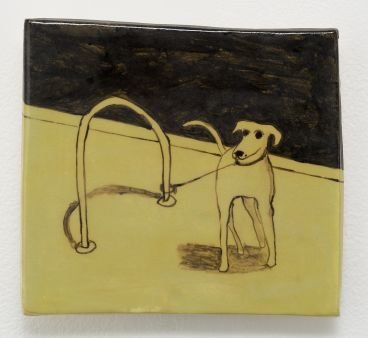 Noel McKenna - Tied up dogs Rose Bay T