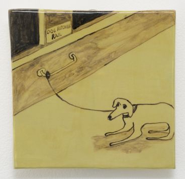 Noel McKenna - Tied up dogs Rose Bay U