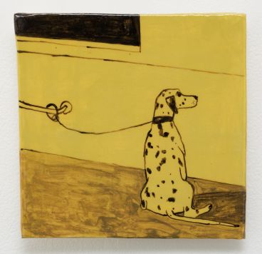 Noel McKenna - Tied up dogs Rose Bay X