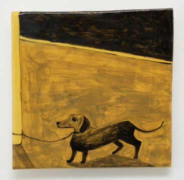 Noel McKenna - Tied up dogs Rose Bay Z